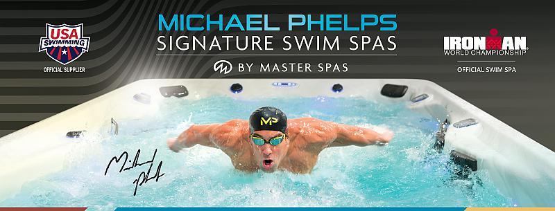 Michael Phelps Swim Spas